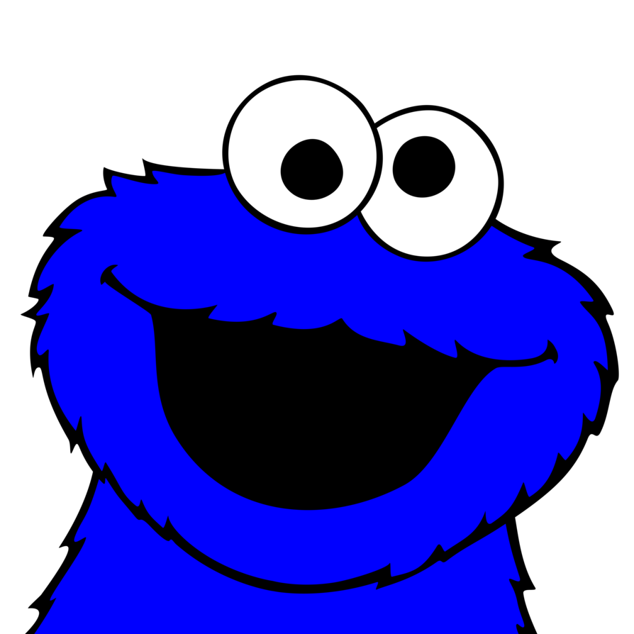 Cookie Monster Clipart .