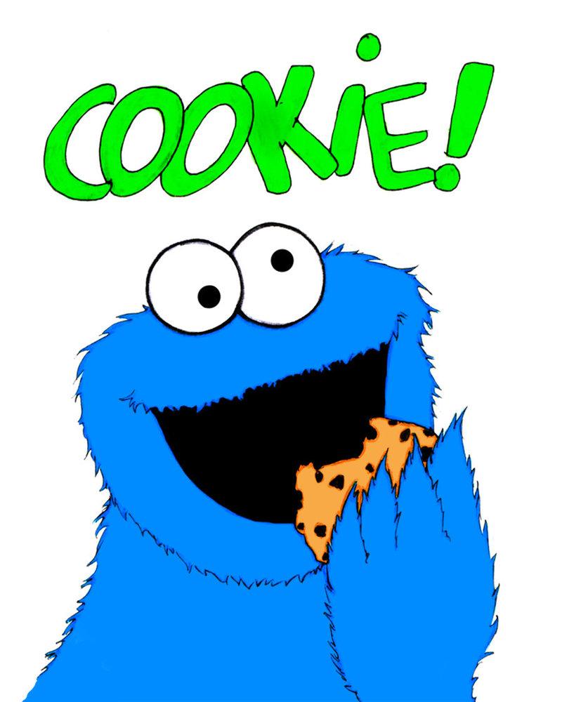 Cookie Monster Clipart-Cookie monster clipart-13