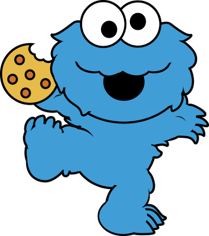 Cookie Monster Face Clipart Free Clip Art Images
