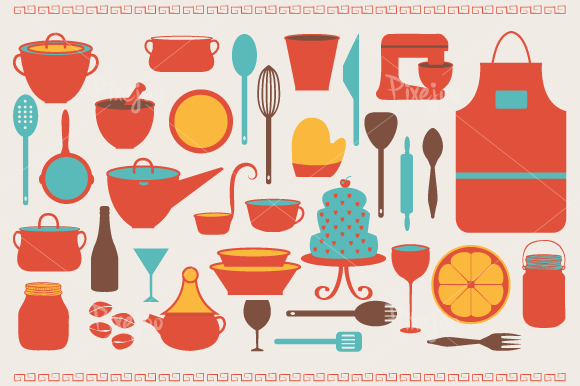 Cooking Utensils Clipart .