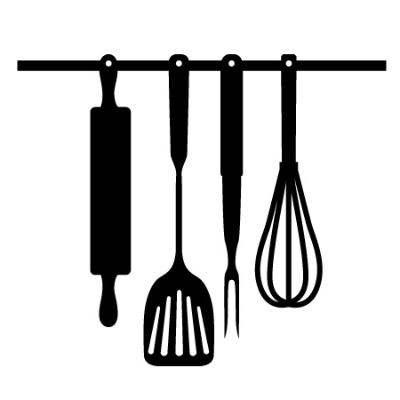 Cooking Utensils Clipart Free ... Personal Chef Services by LPD .