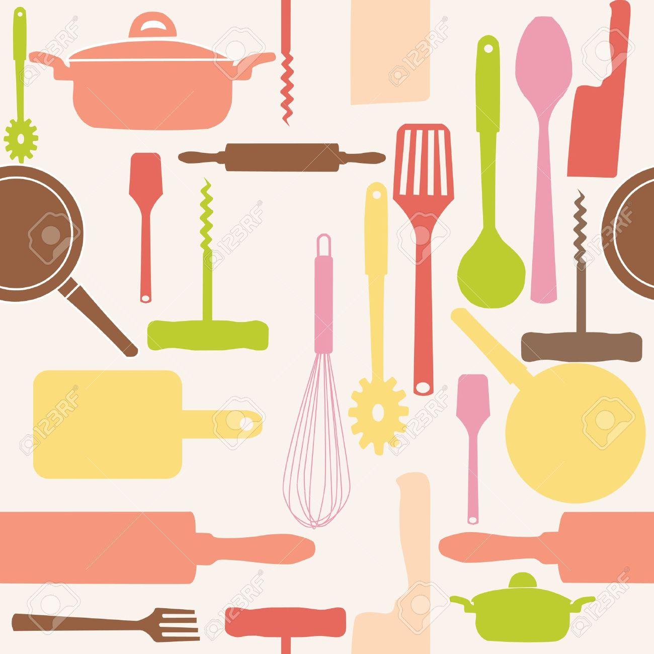 Cooking Utensils: Vector .-cooking utensils: Vector .-7
