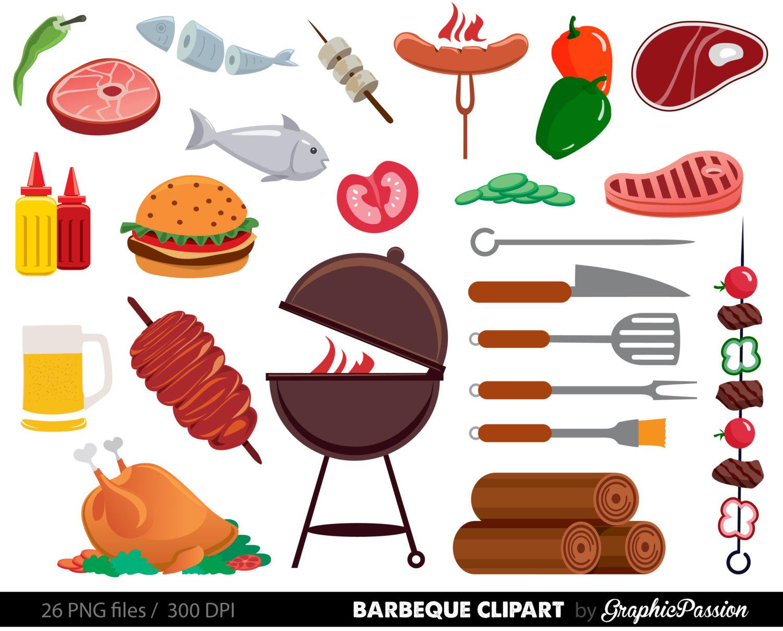Cookout Clip Art BBQ