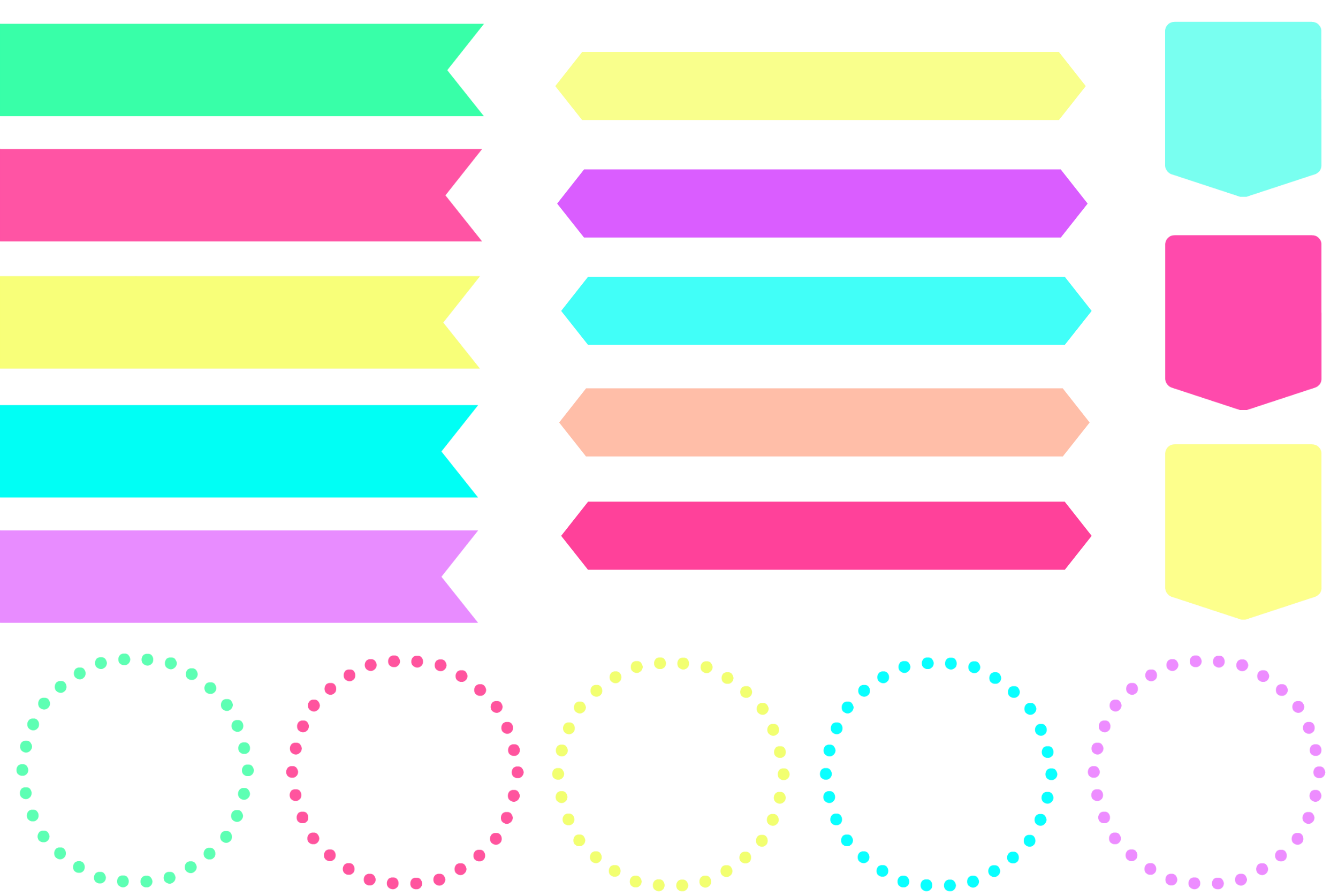 ... cool candy coloured clip art for free download ...