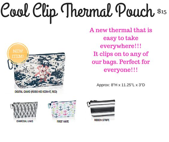 Cool Clip Thermal Pouch, Spring/Summer 2016, Thirty-One