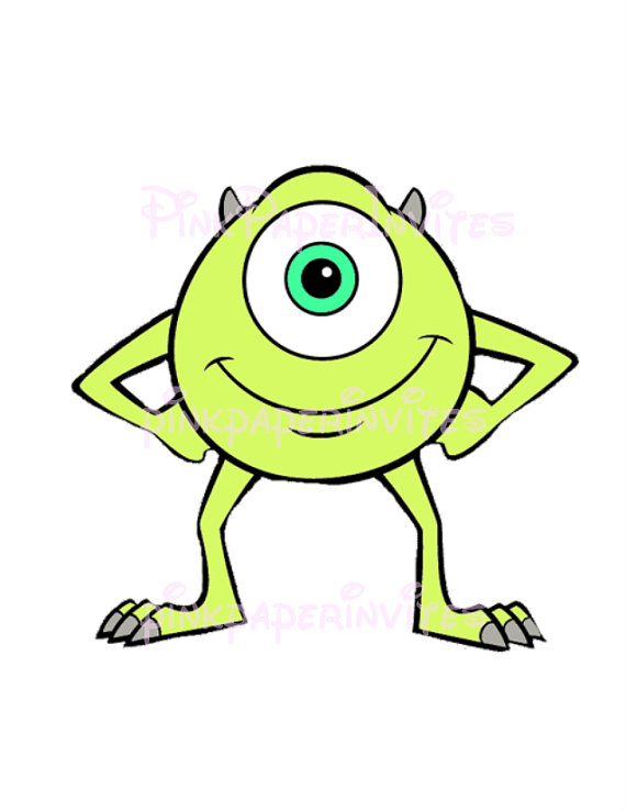 Cool Monsters Inc Clipart .