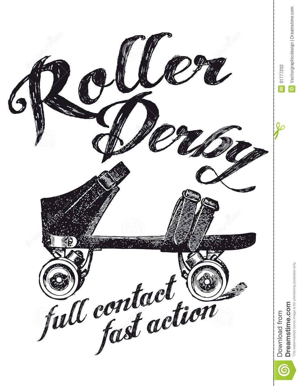 Cool Roller Derby Clip Art .. 06ce0dfd089ae0b5ad7ff1d4d230e5 .