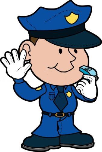Cop Clip Art For Pinterest - Police Officer Clip Art