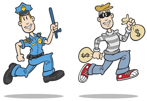 Cops And Robbers Clipart-Cops And Robbers Clipart-2