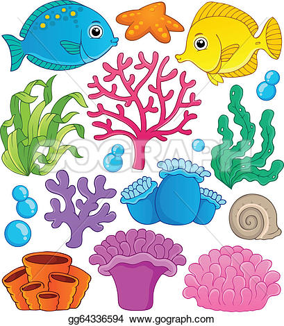 ... Coral reef theme collection 1