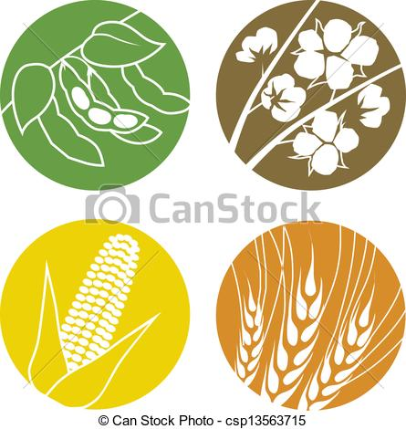 Corn And Soybean Clipart #1