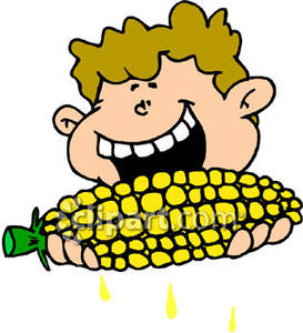 Corn On The Cob Clip Art ... 01c1a45c5f89225dad07fe025c3f11 .