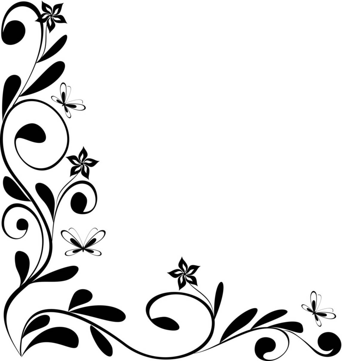 Corner Swirl Clip Art At Clke