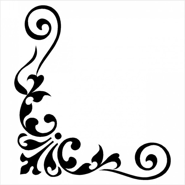 Corner Borders Colouring Pages Page 3-Corner Borders Colouring Pages Page 3-14