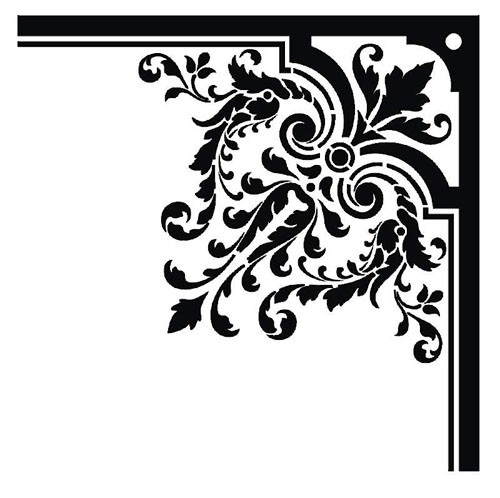 Corner Clip Art Designs-Corner Clip Art Designs-1