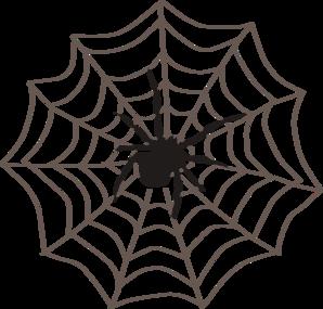 Corner spider web clipart free .