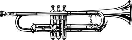 Cornet clip art