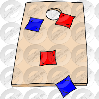 Cornhole Picture For Classroom Therapy Use Great Cornhole Clipart