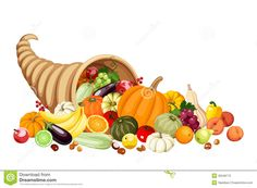 Cornucopia Clip Art | Horn Of Plenty Cli-Cornucopia Clip Art | Horn Of Plenty Clip Art Autumn cornucopia (horn of-12