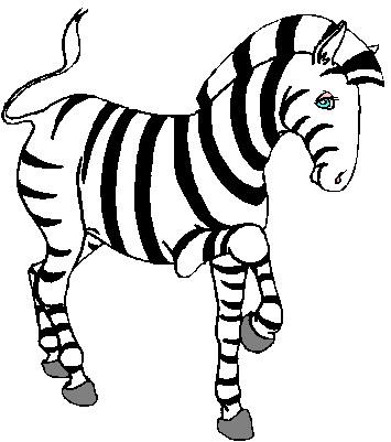 correspondence clipart - Zebra Clip Art