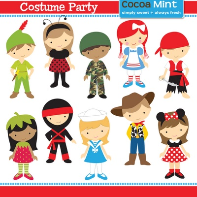 Costume Party Clip Art-costume party clip art-2