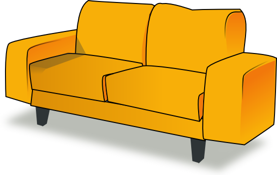 Couch Clipart-couch clipart-2