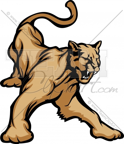 Cougar Clipart u2013 Mountain Lion .