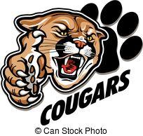 Cougar Head Art Clipart - .-Cougar head art clipart - .-9