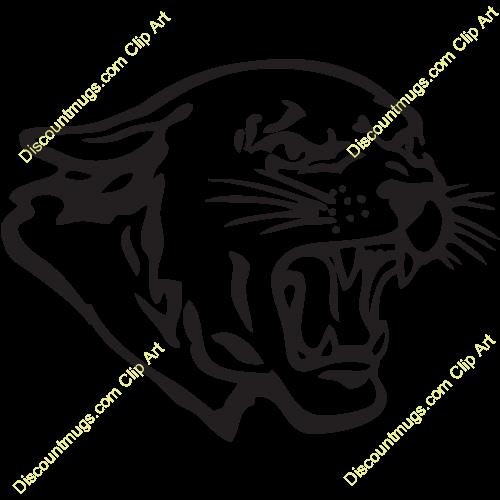 Cougar Head Clipart