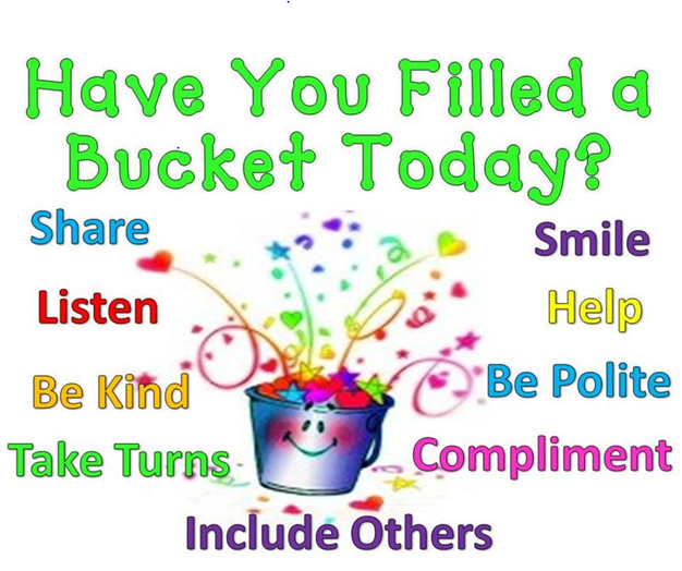 Counseling Bucket Filling