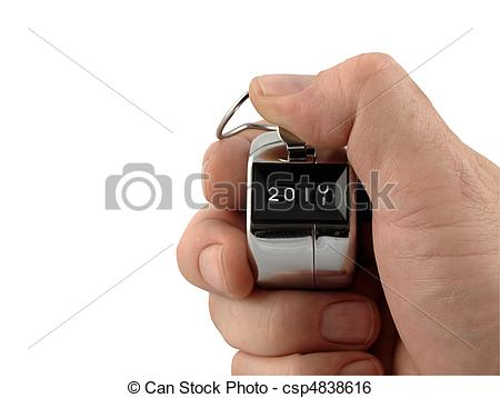 Countdown to the New Year - c - Clicker Clipart