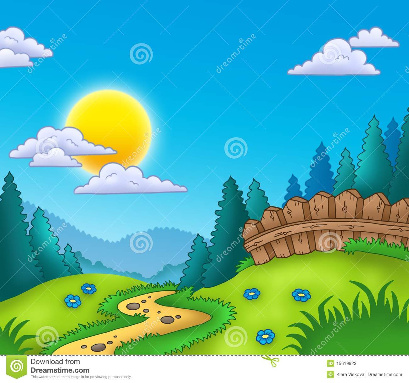 Country Landscape Clipart 2015sportwetten At Usk