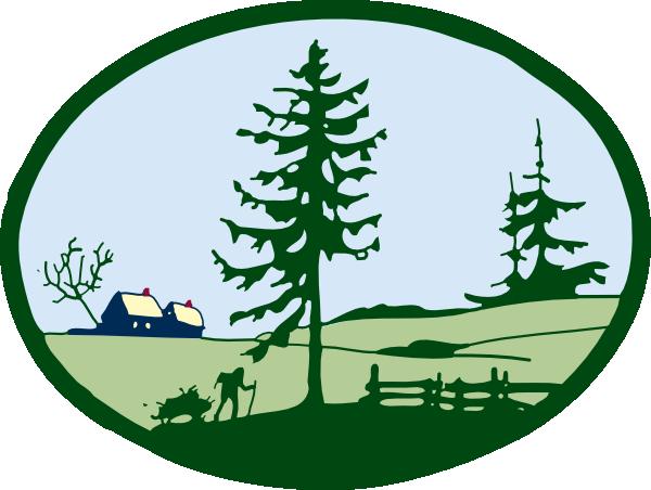Country Scene Clip Art-Country Scene Clip Art-18