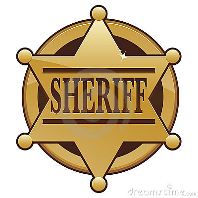 county sheriff badge. Learn more at .