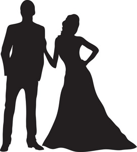 Couple Clipart Image Couple Dancing Silhouette