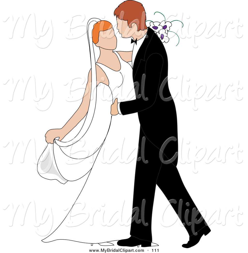 couple married bride . Bridal Clipart of a Happy .