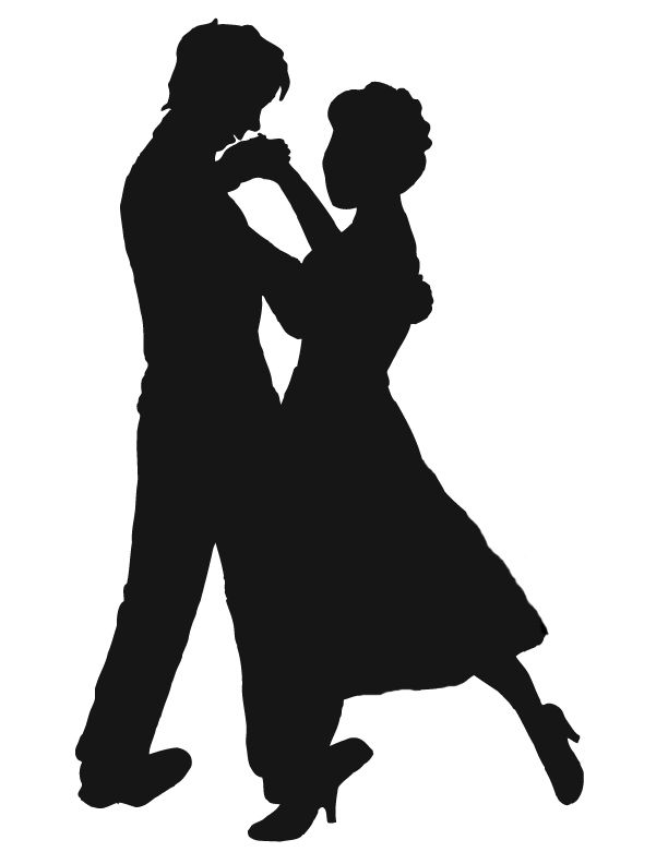 Couple silhouette, Clip art .