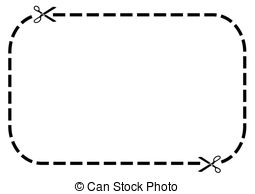 Dotted Line Border Clip Art C