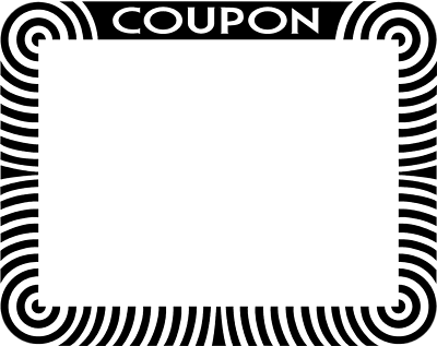 Coupon Clip Art - Clipart library