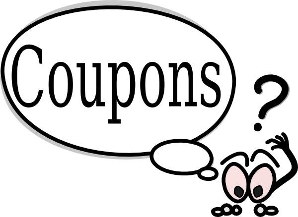 Coupons clip art - vector cli - Coupon Clip Art