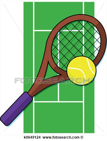 court clipart - Tennis Court Clipart
