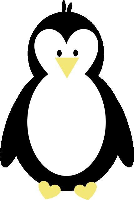 Covered In Glitter And Glue P - Clip Art Penguin