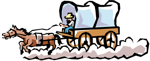 Covered Wagon Clipart - clipartall ...