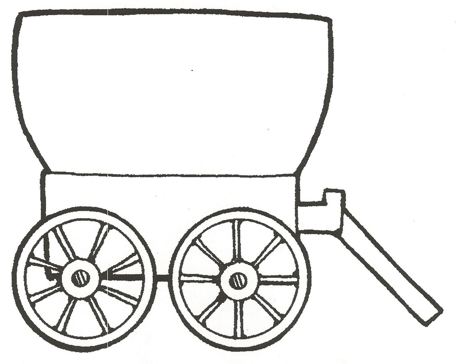 Covered Wagon Clipart; Wagon Clip Art Clipart - Free to use Clip Art Resource .