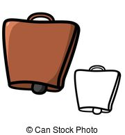 Cow Bell - Vector Illustration : Cow Bel-Cow bell - Vector illustration : Cow bell on a white.-2