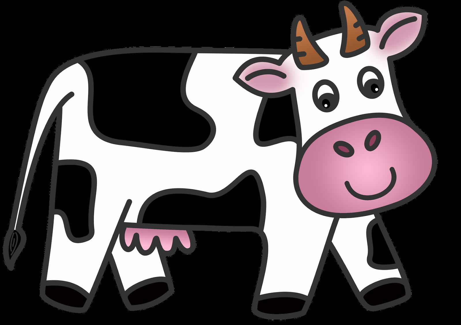 Cow Clip Art Animated Cow .-Cow Clip Art Animated Cow .-6