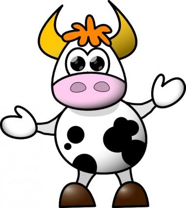 Cow clip art Vector clip art - Free vect-Cow clip art Vector clip art - Free vector for free download-15