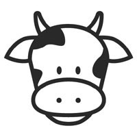 Cow Face Outline Clipart Best. Cow Face Coloring Page .