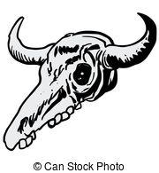cow skull Clip Artby Nattle0/38; cow sku-cow skull Clip Artby Nattle0/38; cow skull cartoon doodle-13