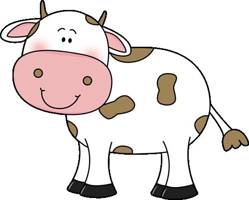 Cow With Brown Spots-Cow with Brown Spots-15